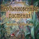 Необыкновенные растения, диафильм (1963) книжка для детей с картинками