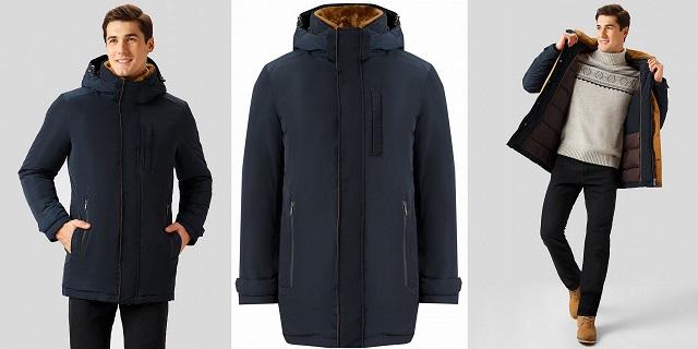 Мужское пальто Finn Flare – стиль, качество, низкая цена