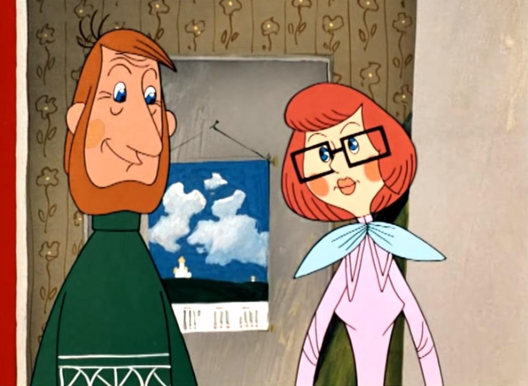 Папа и мама дяди Фёдора картинки из мультика онлайн