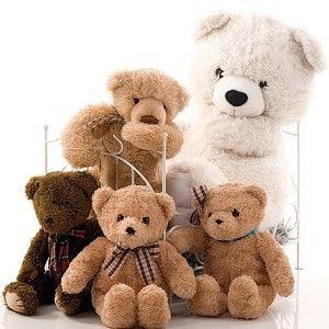 Плюшевые мишки мягкие сказочные игрушки для детей