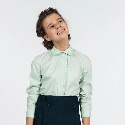 блузки для школьниц