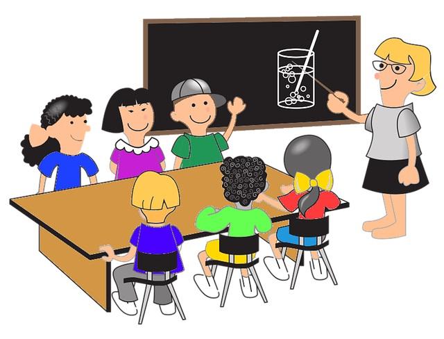 учитель и ученики